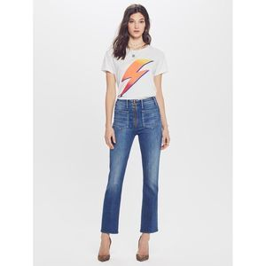 MOTHER The Patch XYZ Insider Ankle Jeans 24
